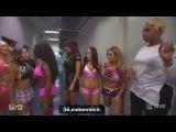 Brie Bella Brianna Garcia The Bella Twins  кулисы Ро