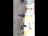 Stunt на Suzuki let's 2