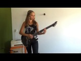 ...And Justice For All Metallica guitar cover by Cissie (with Hammett solo)