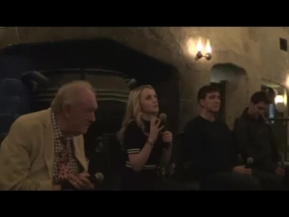 Q&A with actors at HP Celebration in Orlando