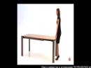 Раскладной стол трансформер. Необычная мебель