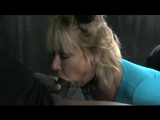 SexuallyBroken_ Mellanie Monroe - Matt Williams - Jack Hammer_ (Porno, порно, минет, blowjob, deep throat, в рот, BDSM)
