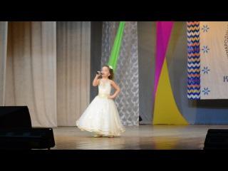 Конкурс - фестиваль Когда мы вместе с 4-7 декабря 2014г. (Валиева Диана, 7 лет. Жырларым - дусларыма)