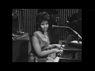 Aretha Franklin - Rock-A-Bye Your Baby With A Dixie Melody (Steve Alen Show) 1964