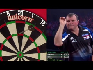 Terry Jenkins vs Mervyn King (PDC European Championship 2014 / Semi Final)