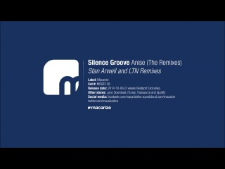 Silence Groove - Anise (Stan Arwell Remix)