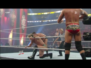 [#My1] Chris Jericho & The Big Show (c) vs. Cody Rhodes & Ted DiBiase - Unified WWE Tag Team Title Match