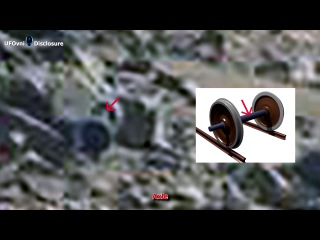 """""""ancient aliens on mars - train axle caught by curiosity, sept 30, 2014"""""""