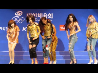 [Fancam] 140911 T-ARA - Sugar Free @ Incheon Asian Games
