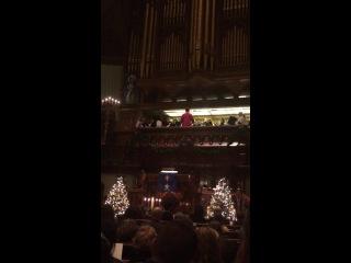 Рождественская служба на Пятой Авеню