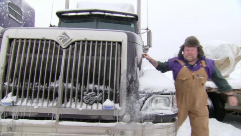 Ледовый путь дальнобойщиков/ Ice Road Truckers 1 Сезон 1 Серия