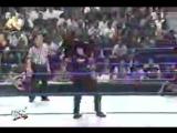WWF SmackDown! 21.09.2000 - Мировой Рестлинг на канале СТС - Рок, Игрок Гробовщик против Криса Бенуа, Курта Энгла и Каина