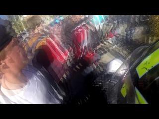 Авария на закрытие  мотосезона Астрахань CBR 600 RR