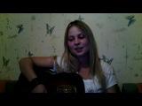 ну вот, дождалась первого видео, где я с гитарой)))