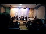 Айшат Темербекова в новогоднем концерте