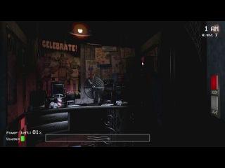 Five Nights at Freddy's #1 прохождение от JesusAVGN