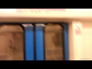 В метро вагоны тоже на виндоуз