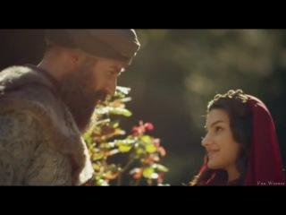 Хюррем видит Сулеймана и беременную Назенин в саду/Монолог Хюррем о Мехмете (108 серия)