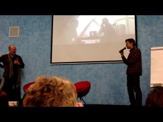 Бенуа Сокаль - мастер-класс «Syberia. Создание культовой компьютерной игры»