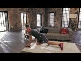 Упражнения для грудных мышц- глубокие отжимания - Домашние тренировки с Денисом Семенихиным #6