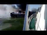 Подбитые украинские катера