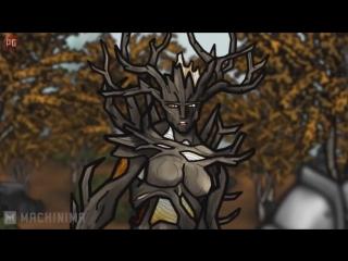 Старческие Каракули - Пародия на Skyrim - [Эпизод 3]