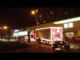 грузовик Coca-Cola в Праге