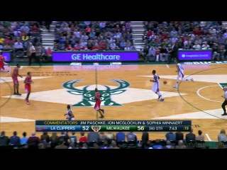 Los angeles clippers vs milwaukee bucks - december 13, 2014