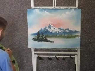 Урок рисования маслом от Кевина Хилла