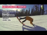 How to Tripod Snowboarding - Snowboard Butter Tricks
