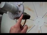 Как установить дополнительную головку, пакет Континент на тарелку 180см - YouTube