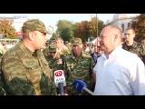 Славноизвестный Самвел затыкает рот ополченцу в Крыму