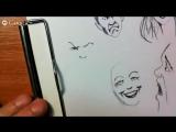 Как нарисовать эмоции человека
