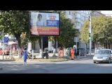 Центральная улица г.Черкесска. Это моя доча)