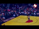 Will Barton closes Fan Fest with a big dunk