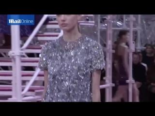 Показ модного дома «Dior» на Парижской неделе моды — 27.01.2015