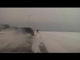 Ниву занесло - ДТП в белгородской области 08.02.2015