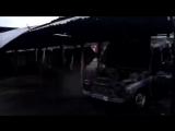 Прилёт на автостоянку, Макеевка, район 3/5 06.02.2015