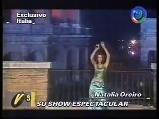 ► НАТАЛИЯ ОРЕЙРО | ВЫСТУПЛЕНИЯ В ИТАЛИИ (2000)