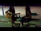 Испания, уличные музыканты :) Ллорет де мар