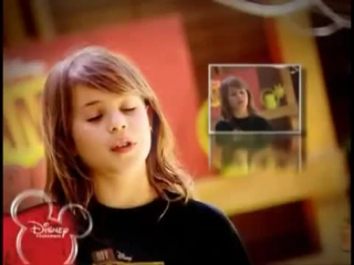 Disney Channel - My camp rock - La final. Prueba 3. Lucia Gil - Two Stars. Clase de canto