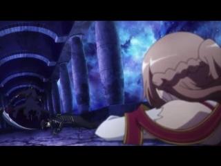 Sword Art Online  Мастера меча Онлайн  Искусство меча онлайн - 1 сезон 12 серия Zendos & Say