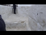 Прогулка по ледяной Крепости + Спуск детей с Горки