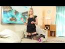 Elle Richie stunning black dress