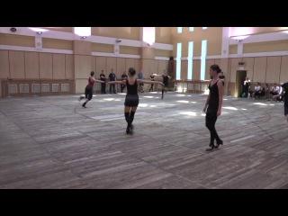 Женская техника народного танца