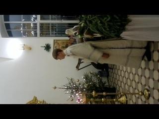 Рождество 07.01.15 г. Херувимская песнь