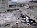 Cunami s morja zatopilo za1min 25sek spa