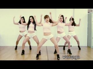 Корейская танцевальная группа Waveya танцует под PSY - GENTLEMAN