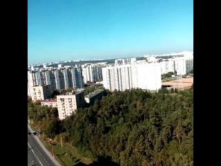Вид из самого высокого жилого дома в Северном Б, часть 1