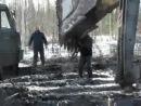 Зимник Усть-Кут - Мирный. Ранняя весна 2014 года
